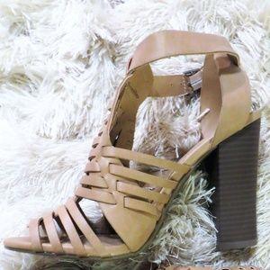 Merona Women's Tan Huarache Heels